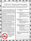 Author's Viewpoint Practice