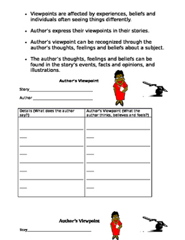 Author's Viewpoint Template