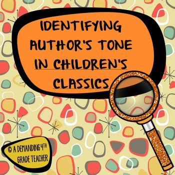 Tone in fiction: Making inferences about narrator's tone; R.L.4.1, 5.1