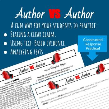 Author vs Author: Comparing Author's Writing Through Literary Elements