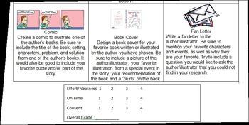 Author/Illustrator Study