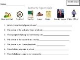 Authority Figures Worksheet