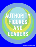 Authority Figures and Leaders Activity