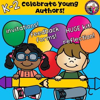 Authors Celebration! K-2!