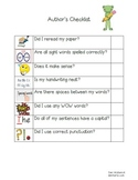 Author's Checklist K-3