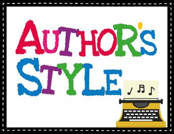 Author's Craft/Style