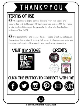Author's Craft and Mentor Sentences iPad Reading or Writing Workshop Activity
