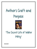"Author's Craft and Purpose in ""The Secret Life of Walter Mitty"""