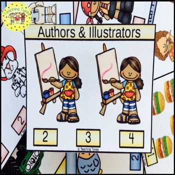 Authors and Illustrators Task Cards