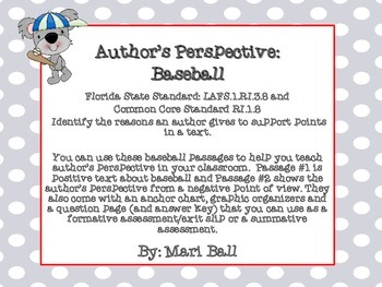 Author's Perspective Pack- Baseball