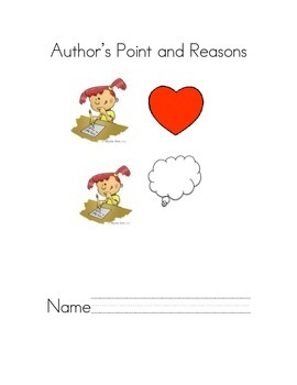 Author's Point and Reasons Learning Log