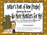Author's Point of View Freebie inspired by No More Monsters For Me!
