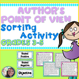 Author's Point of View (Author's Perspective) Sorting Acti
