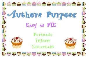 Authors Purose