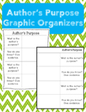 Author's Purpose Worksheet / Graphic Organizer