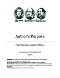 Author's Purpose Lesson Plan