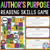 Author's Purpose Activity: Author's Purpose Reading Game (PIE)