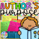 Author's Purpose | Distance Learning