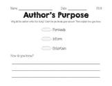 Author's Purpose 1.RI.8