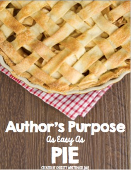 Author's Purpose Games and Activities for Review & Practice