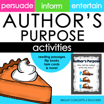 Author's Purpose Activities