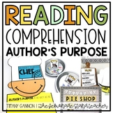 Author's Purpose Activities and Worksheets | Distance Learning
