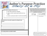 Author's Purpose Activity Set