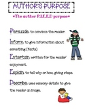 Author's Purpose Anchor Chart