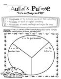 Author's Purpose - As Easy as P.I.E