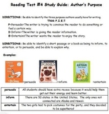 Author's Purpose Assessment and Study Guide