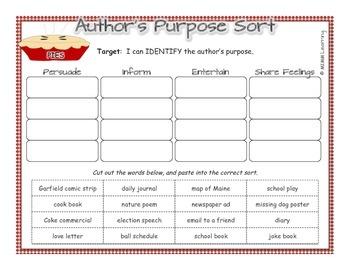 Author's Purpose - Bundle
