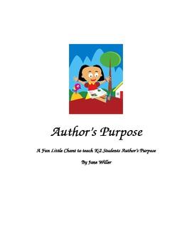 Author's Purpose Chant