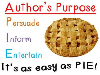 Author's Purpose Chart