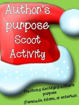 Author's Purpose Christmas Scoot
