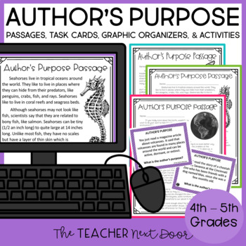 Author's Purpose: 4th and 5th Grade
