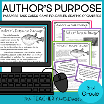 Author's Purpose: 3rd Grade