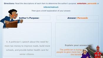 Author's Purpose Passages