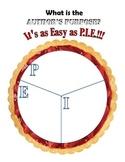 Author's Purpose: Easy as Pie