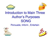 "Author's Purpose ""Easy as Pie"" Song"