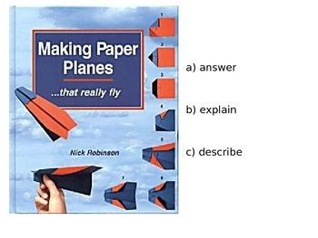 Author's Purpose - Explain, Answer, Describe