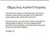 Author's Purpose Extravaganza