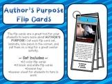 Author's Purpose Flip Cards