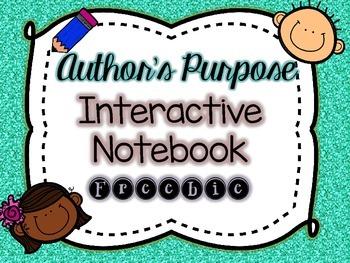 Author's Purpose Freebie