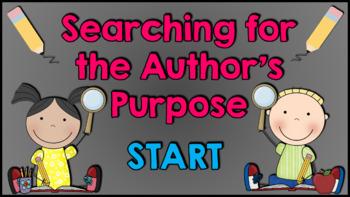 Author's Purpose Game Show