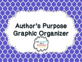 Author's Purpose Graphic Organizer