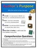 Author's Purpose - Mini Anchor Chart & Graphic Organizer
