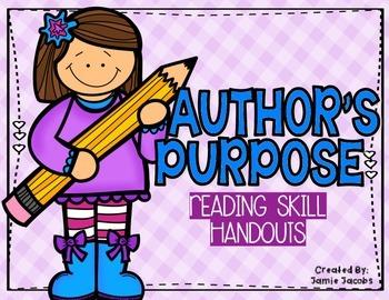 Author's Purpose (Handouts)