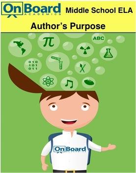 ELA Author's Purpose-Interactive Lesson