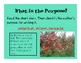 Author's Purpose - Introduction Powerpoint