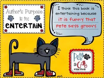 Author's Purpose Is Easy As Pie {6 Literacy Craftivities}